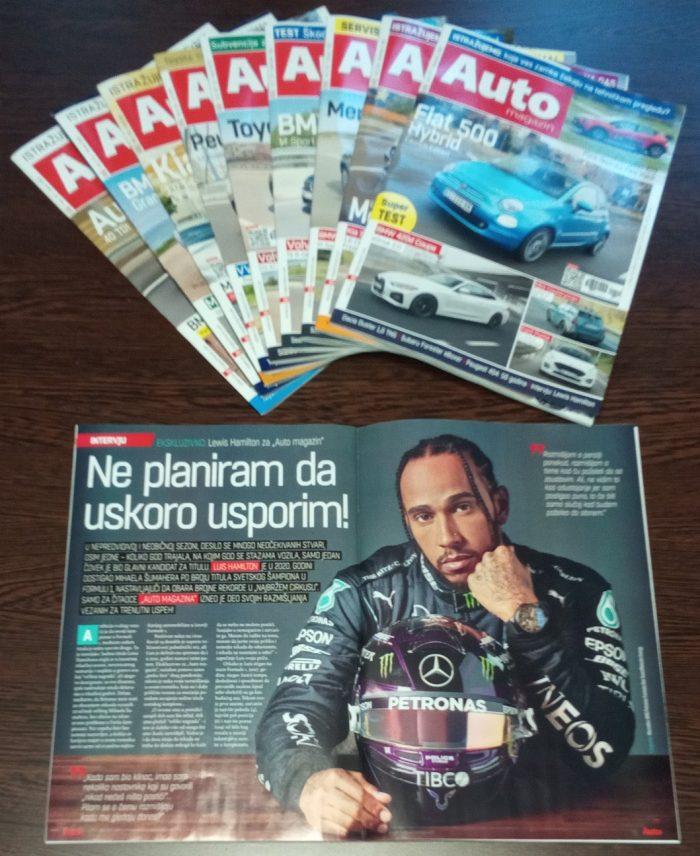 Lewis Hamilton Interview za Auto magazin Srbija Luis Hamilton
