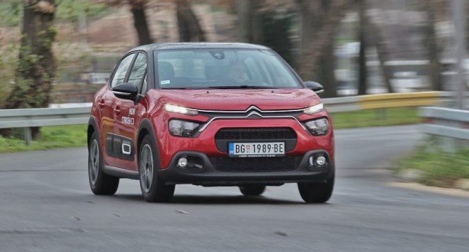 Redizajnirani Citroën C3 na testu Auto magazina