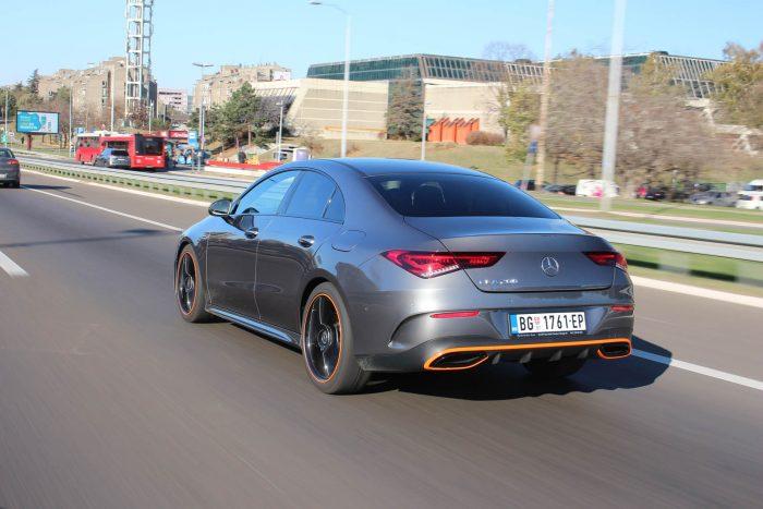 Auto magazin Srbija TEST: Mercedes-Benz CLA 200 7G-DCT