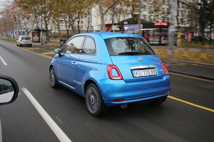 SUper Test Fiat 500 BSG Hybrid