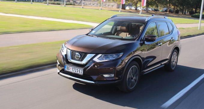 TEST: Nissan X-Trail 1,7 D 4WD Tekna