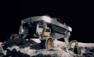 Kia Tiger je robot za prevoz po zahtevnim terenima