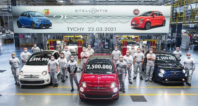 Proizveden 2,5 milioniti Fiat 500 u Poljskoj