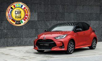 Toyota Yaris je evropski auto godine za 2021.