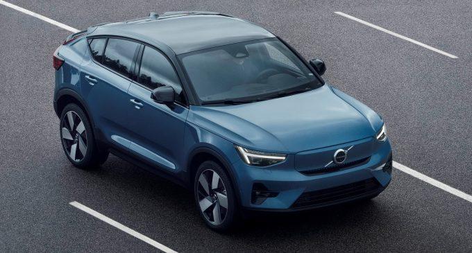 Volvo C40 Recharge je kupe krosover na struju