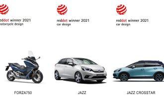 Honda osvojila Red Dot nagrade za dizajn