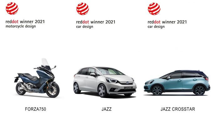 Honda osvojila Red Dot nagrade za dizajn