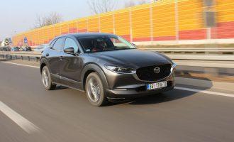 TEST: Mazda CX-30 Skyactiv-X186 AWD AT GT Plus
