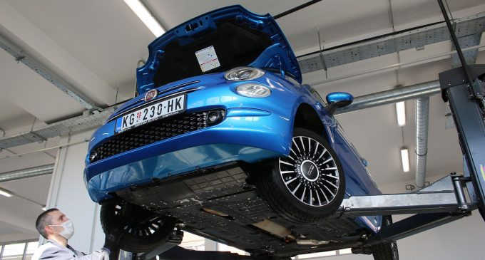 SUPER TEST: Fiat 500 BSG Hybrid Launch Edition 3. deo