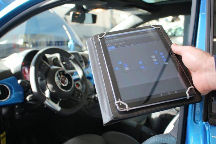 Test Fiat 500 Hybrid