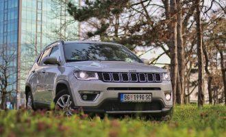 Jeep Compass 1,3 DDCT Limited na testu Auto magazina