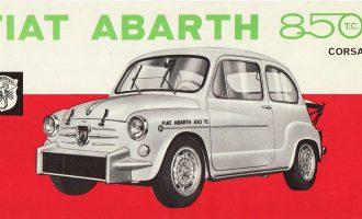 Abarth 850 TC slavi 60. rođendan