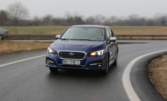 TEST: Subaru Levorg 2,0i High Premium Navi Sport