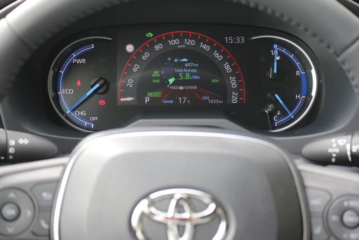 Test Toyota RAV4 Hybrid AWD-i