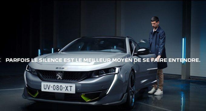Novak Đoković u reklami za najsnažniji Peugeot svih vremena