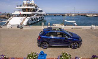 Fiat 500X Yachting dobija meki krov i drvo u enterijeru