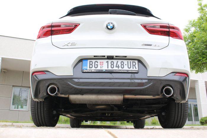 Test BMW X2 18d sDrive