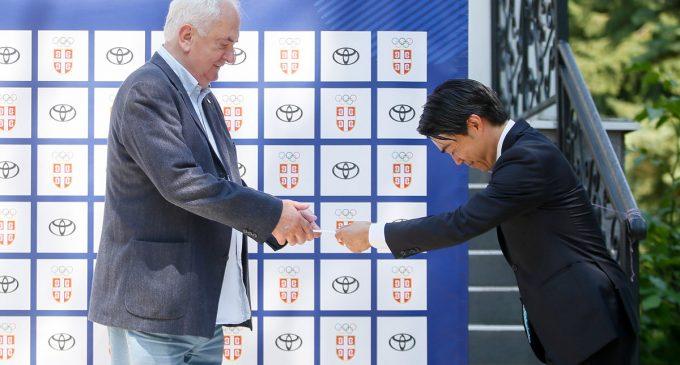Toyota našim olimpijcima poželela dobrodošlicu u Japan