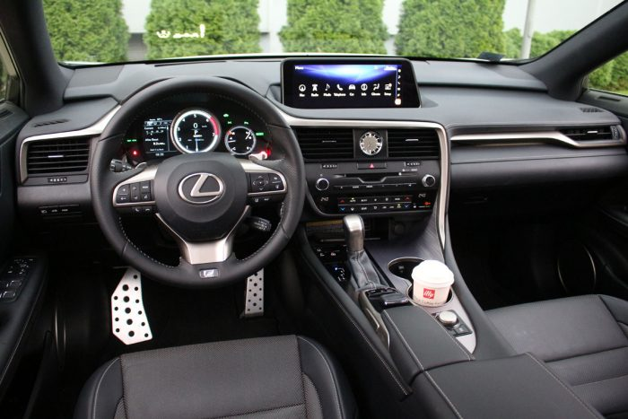 Test Lexus RX 450h F Sport