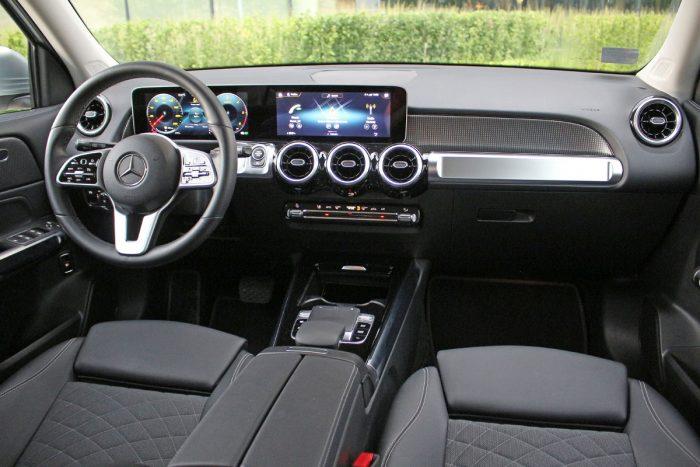Test Mercedes GLB 200 d