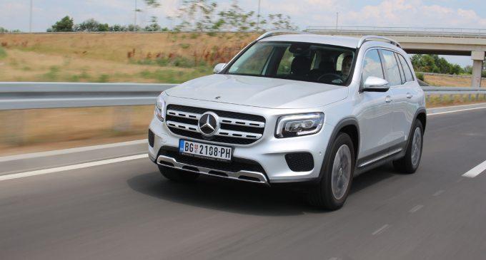 Mercedes GLB na testu Auto magazina