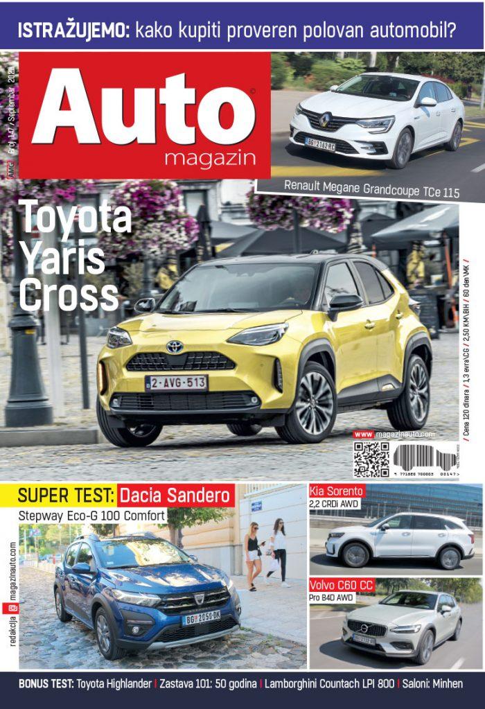 Auto magazin septembar 2021