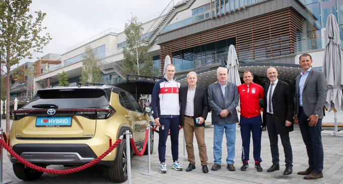 Toyota Yaris Cross predstavljen srpskim olimpijcima