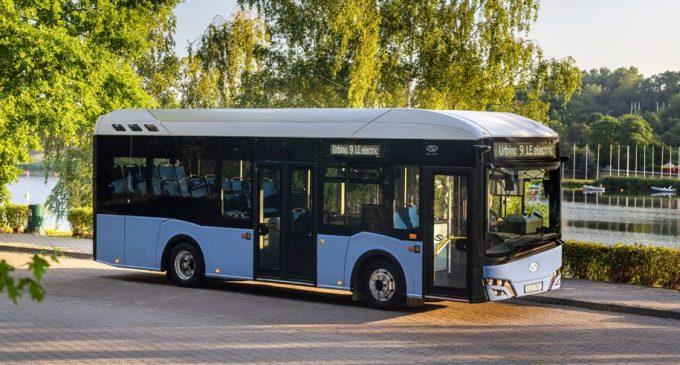 Predstavljen devetometarski električni Solaris Urbino 9 LE electric