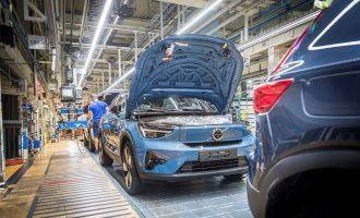 U Belgiji počinje proizvodnja Volvo C40 Recharge