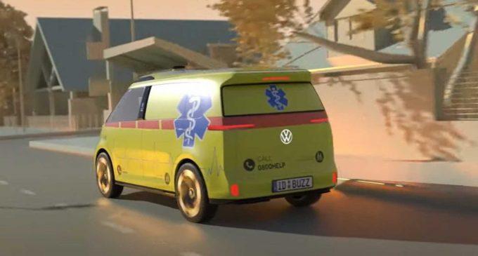 VW radi na ID Buzz autonomnim ambulantnim kolima